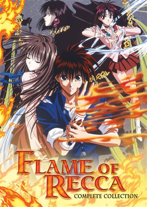 Anime Of Recca of recca dvd