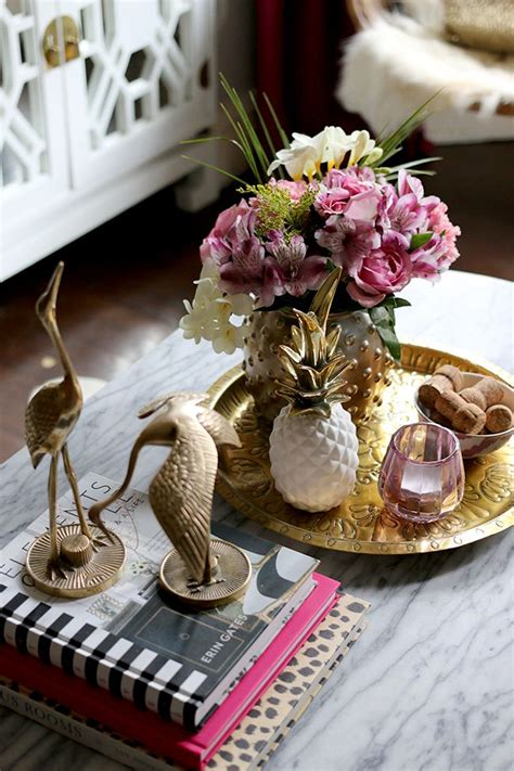 coffee table flower decorations 17 best ideas about coffee table styling on pinterest