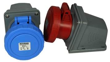 Surface Mounting 3x32a ronbar factors ltd uk manufacturing supply for electrical wholesalers industrial plugs sockets