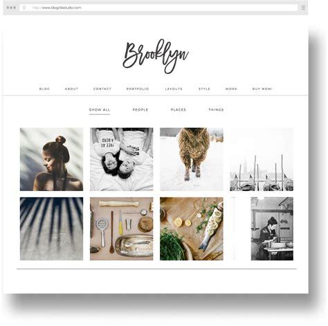 brooklyn theme blog excerpt blog themes blogzilla