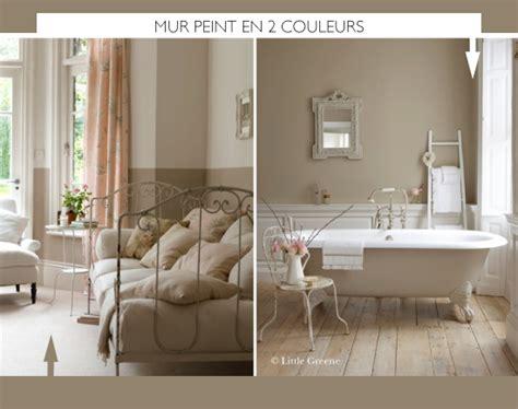 Home Decoration Magazine by Peindre Le Mur En 2 Couleurs