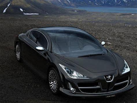 luxury peugeot cars concept cars 2000 peugeot 908 rc luxury saloon concept car