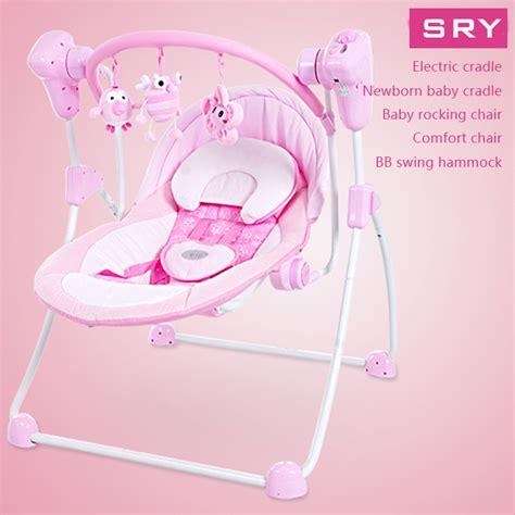 pink baby swing chair 2015 el 233 ctrica cuna coctelera beb 233 reci 233 n nacido beb 233