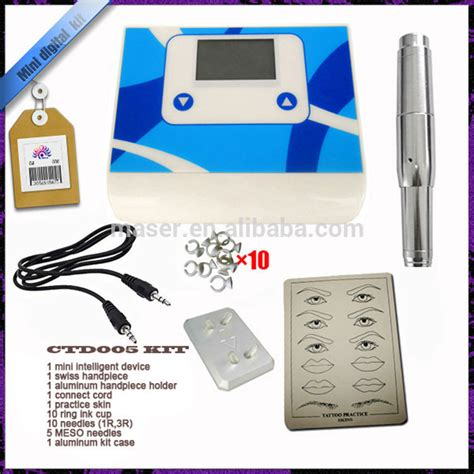 tattoo kit paypal acrylic noiseless device for permanent makeup power motor