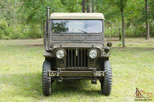 M38 Jeep Parts Willys Jeep M38