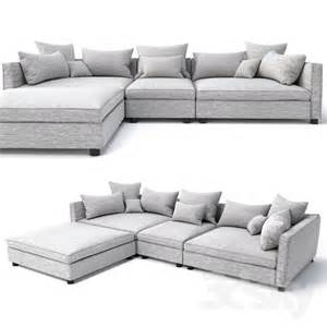 Mr Big Sofa 3d models sofa bolia mr big sofa 3 units and pouf