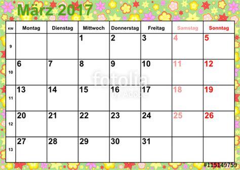 Kalender Ausdrucken Monat Quot Kalender 2017 Monat M 228 Rz Mit Feiertagen F 252 R Deutschland