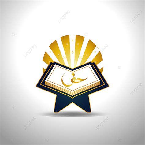 holy al quran logo illustration sign symbol icon template
