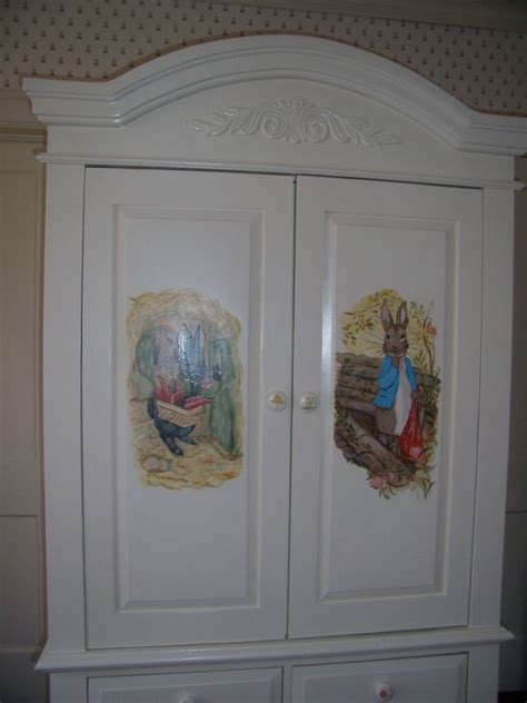decorative armoires custom made decorative armoire for a girls nursery by