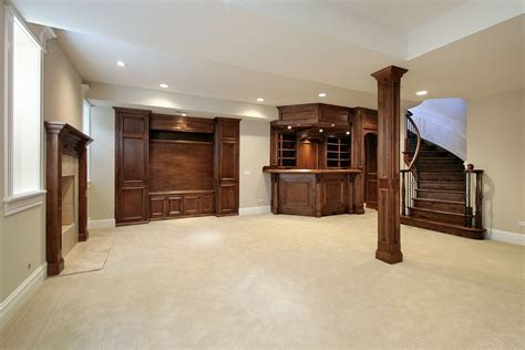 houses with finished basements reigning in your basement renovation budget home