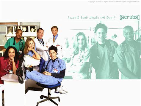 Poster Tv Series Scrubs 40x60cm scrubs posters tv series all poster