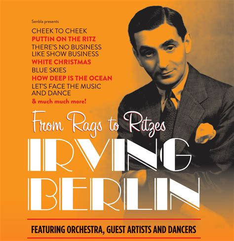 list of irving berlin songs chronological wikipedia irving berlin from rags to ritzes rodgers