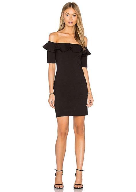 Dress Amanda 3 amanda uprichard amanda uprichard sia dress in black