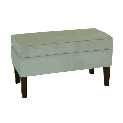 indoor bench storage shop skyline furniture diversey pool indoor accent bench