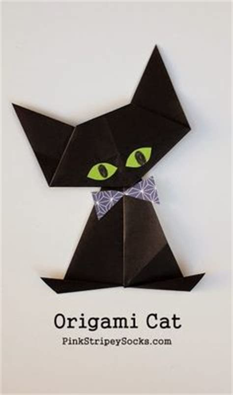 How To Fold An Origami Cat - paper toys on 352 pins
