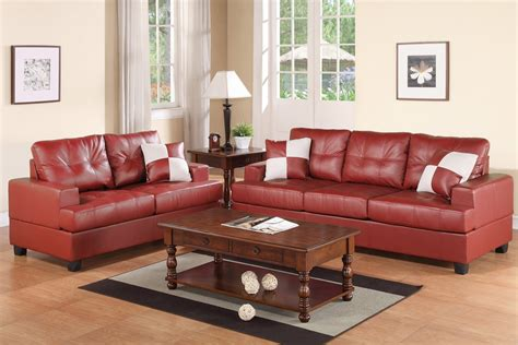 burgundy sofa and loveseat red leather sofa and loveseat set steal a sofa furniture