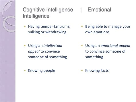 Intellectual Intelligence Essay by Emotional Intelligence