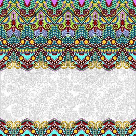 wallpaper ethnic design ornamental floral folkloric background for invitation