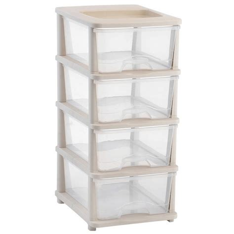 Plastic Bathroom Drawers by Maggiedoll 4 Tier Plastic Storage Drawers Shelves