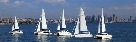 catamaran sailing school san diego sailing in san diego catamarans trimarans west coast