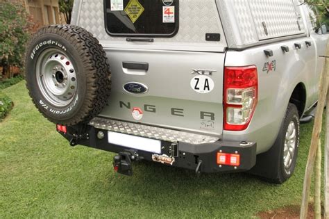 Shockbreaker Ford Ranger Rear ford ranger t6 rear bumper