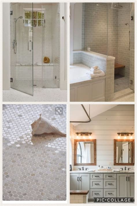 attractive Diy Bathroom Decor Ideas #3: 1623515c11f42934ff71029e39d2aecb--shiplap-bathroom-penny-tile.jpg