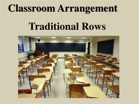 classroom layout rows seating arrangement