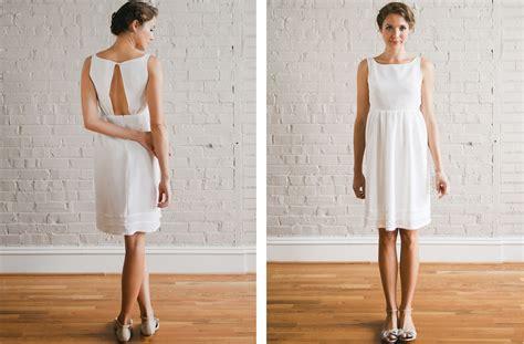 Schlichte Kurze Brautkleider by Simple Wedding Dress Sang Maestro