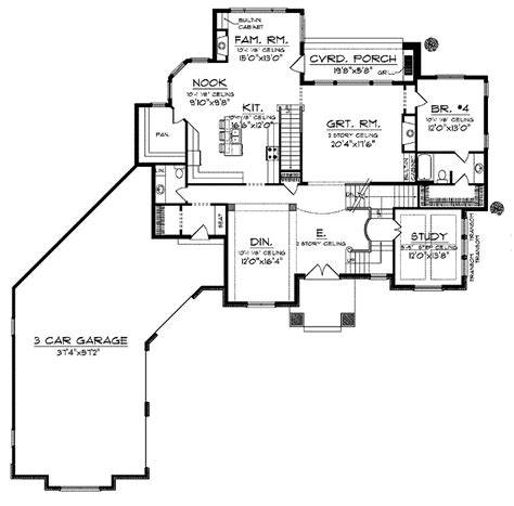 4 bedroom ranch home plans 4 bedroom ranch floor plans photos and video