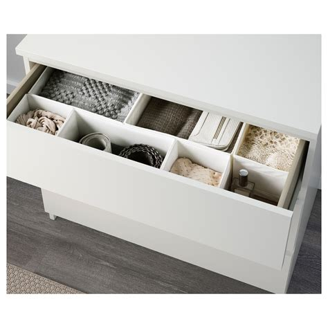 malm kommode 5 schubladen malm chest of 3 drawers white 80x78 cm ikea