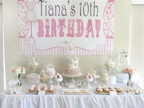 themes for a girl s 10th birthday party 20 best photos of ideas for girls 10th birthday party