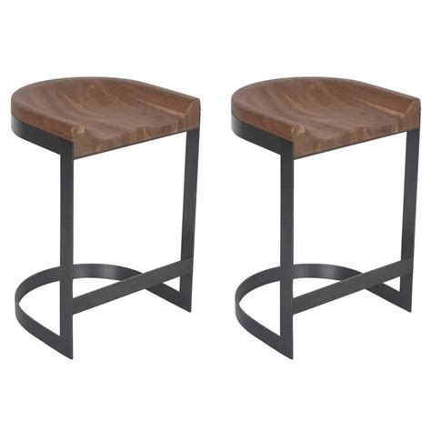 Saddle Stools For Sale by Walnut Saddle Stools For Sale At 1stdibs