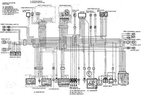 suzuki motorcycle wiring diagram 1989 gsxr1100 wiring diagrams diagnose and troubleshoot