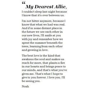noah s up letter to notebook one of noah s letters to quotes quotes