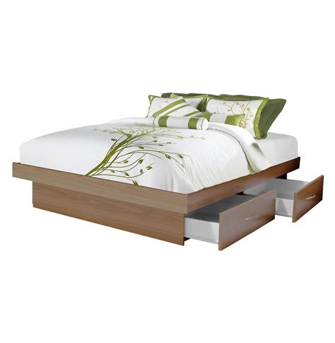queen bed drawers queen platform bed with 4 drawers contempo space