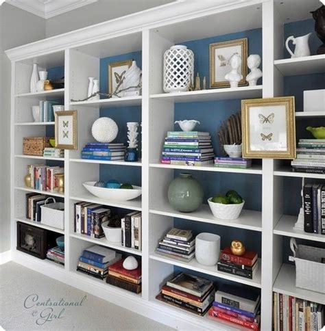 built in bookshelf ideas shelf decorating built in shelf decorating idea for
