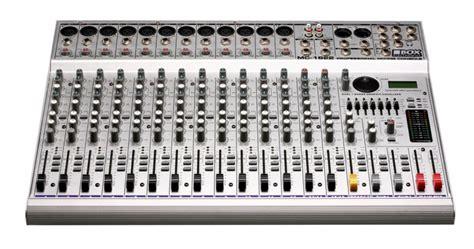 Equalizer Mixer Mc Audio 4 Channel Untra Slim Mixer Wf 4g Usb 1 box electronics mc 1622