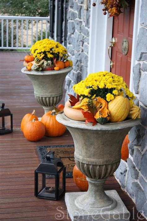 fall outside decorating ideas 46 of the coziest ways to decorate your outdoor spaces for