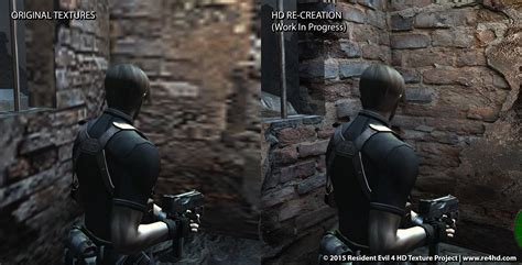 mod game resident evil 4 fan made mod improves pc resident evil 4 s hd textures