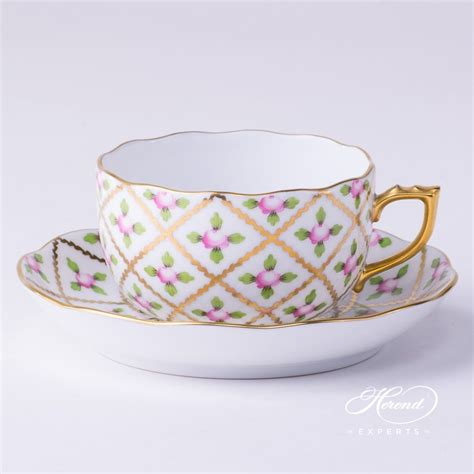 Tea Cup 5 by Tea Cup Sevres Roses Herend Experts