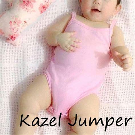 Kazel Bodysuit Baju Bayi Jumpsuit Balita Jumper Baby Isi 4 kazel jumper dan singlet jumper bayi adem dan lucu