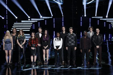 who went home on the voice 2014 last top 12 results