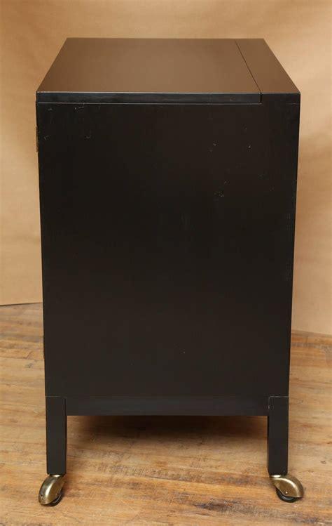 Locking Bar Cabinet Mahogany Locking Bar Cabinet By Edward Wormley At 1stdibs