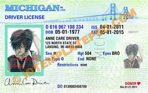 state id template 17 best images about novelty psd usa driver license