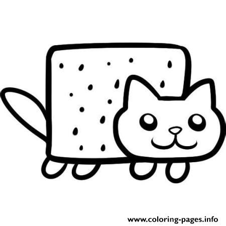 nyan cat coloring pages simple nyan cat coloring pages printable