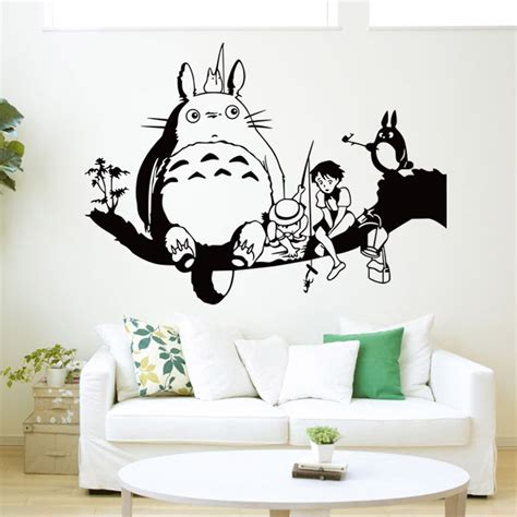 wall stickers china buy wholesale totoro wall sticker from china totoro