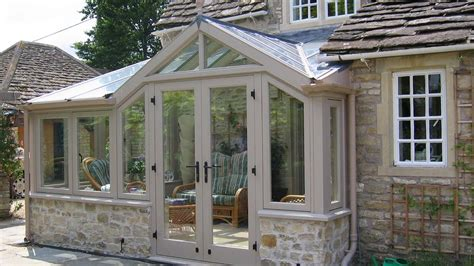 Kitchen Ideas For New Homes well designed conservatory on a listed cottage