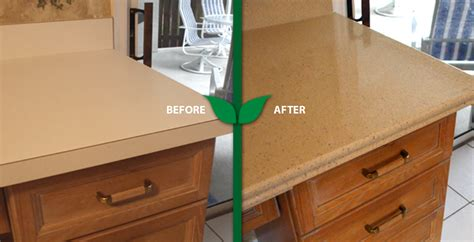 Laminate Countertop Refinishing Kit by Green Countertops Kitchen Refinishing Formica Countertops
