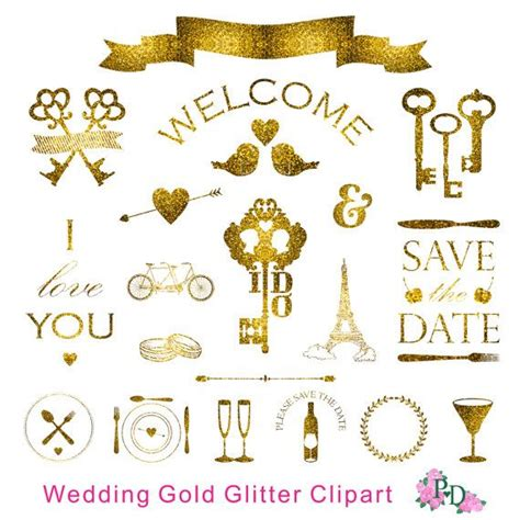 gold wedding clipart 17 best images about watercolor clip easyprintpd on