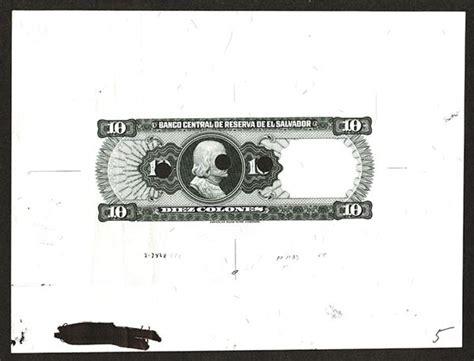 banco central de reserva de el salvador banco central de reserva de el salvador 1983 issue